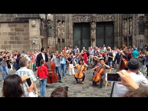 Flashmob Nuremberg June 2014 - Ode an die Freude