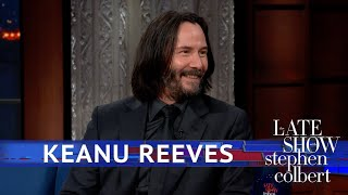 Keanu Reeves: What It's Like To Fight On A Horse