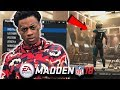 BOONK GANG IN MADDEN 18! FASTEST WR EVER! | Madden 18 Career Mode Wr Ep.1 | Madden 18 CFM
