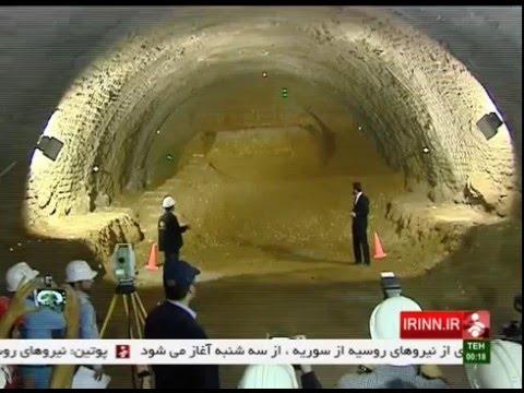 Iran Tehran city, Sixth Metro line ششمين خط مترو تهران ايران