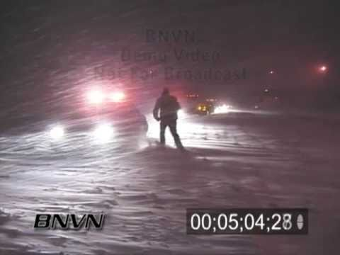 4/7/2003 Bad winter weather and winter driving video