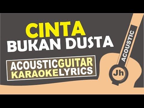 download lagu Noah - Cinta Bukan Dusta  Karaoke Acoustic gratis