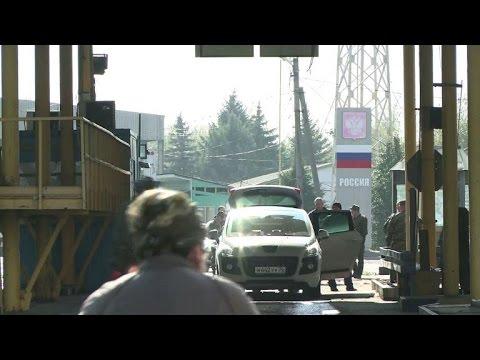 Rebels in eastern Ukraine keep border with Russia open