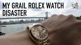 My Rolex Grail Watch Disaster: Day-Date 18038 First Impressions