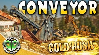 Gold Rush the Game : Conveyor Belt & Workers Weight! (PC Lets Play)
