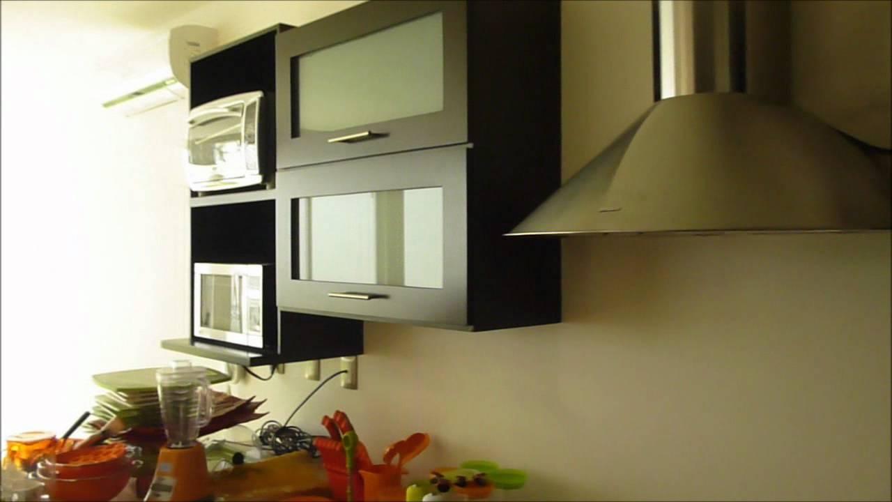 Cocina chocolate minimalista de roca carpinteria youtube - Cocinas minimalistas ...