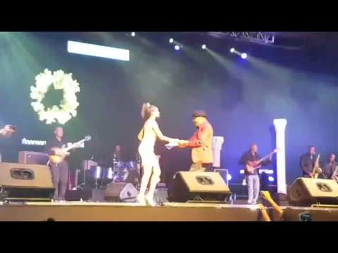 Danayit Mekbib Dancing With Ali Birra At Addis Concert 2 - Ethiopia