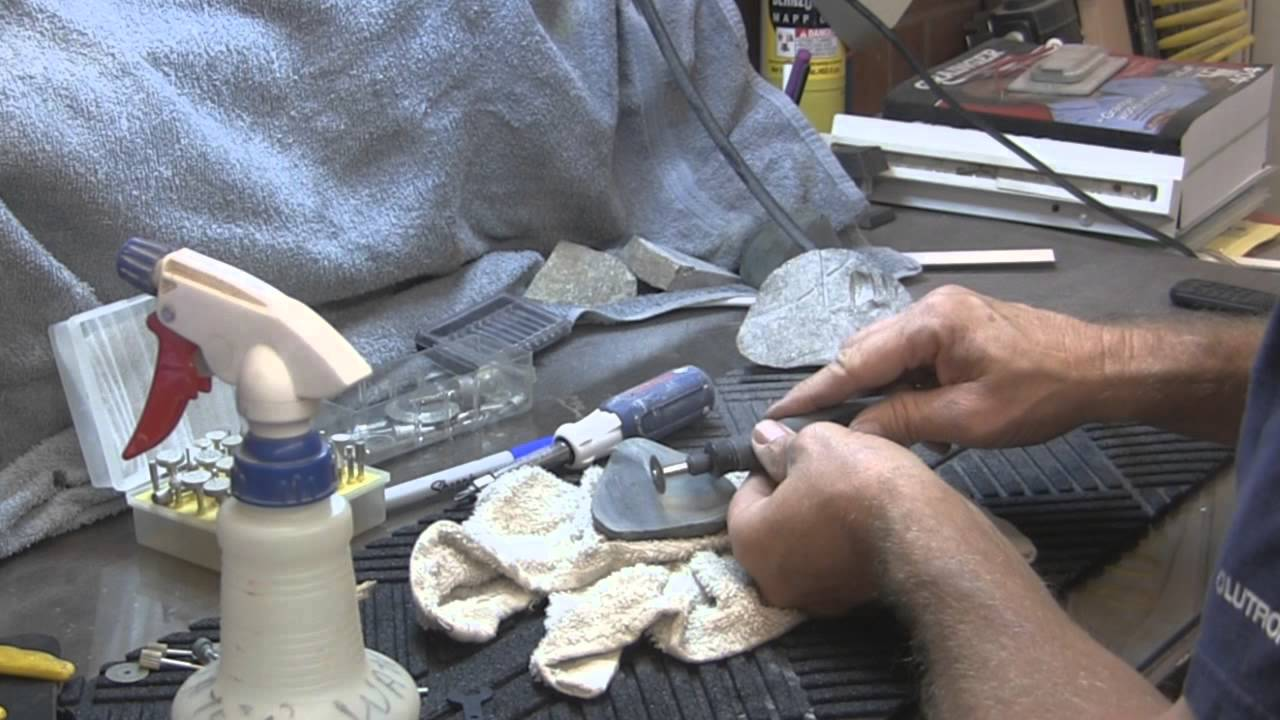 Rock Carving Dremel Bits Youtube