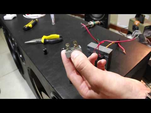 Como fazer uma fonte 12v - Faça sua fonte 12v, carregador de baterias, super fácil e barato