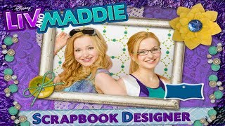 Game | Disney s Liv and Maddie Scrapbook Designer | Disney s Liv and Maddie Scrapbook Designer