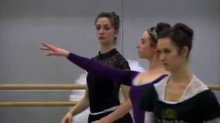 the corps de ballet... the royal ballet