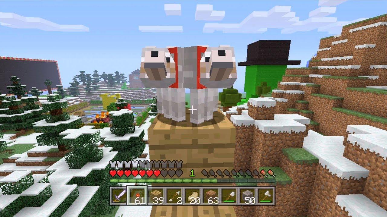 Minecraft Xbox Mutant Dog