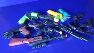 Box of Toys ! GUNS BOX Toys Military & Police equipment | Gun toy (39) USA