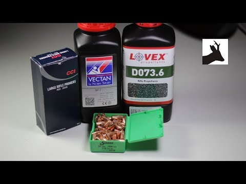 .308 plinking load part 1 - Sierra 110gr and Lovex D073.6