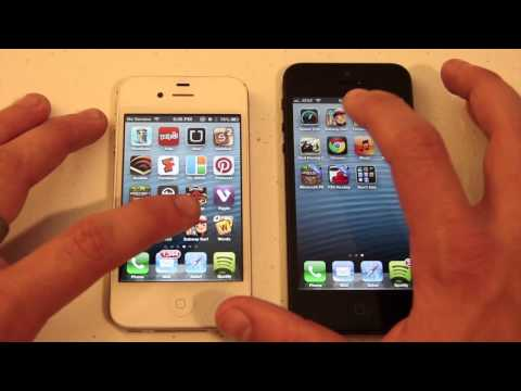 iPhone 5 vs. iPhone 4S - Speed Test