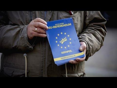 Nederland werkt zich juridisch in de nesten met Oekraïne referendum.