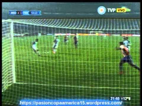 (Relator enojado) Argentina 6 Paraguay 1 (Relato Bruno Pont)  Copa America 2015