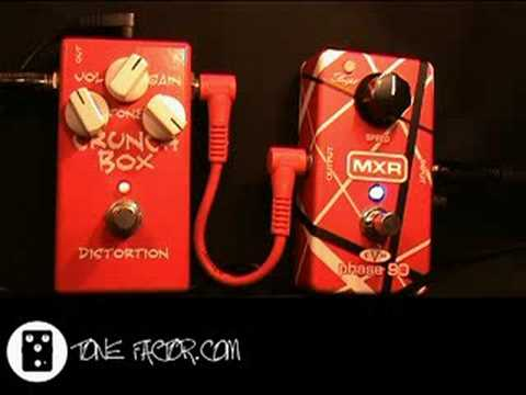 MXR Eddie Van Halen Phase 90 demo Video