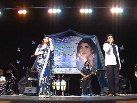 SINGER SARAL ROSHAN SANG SAR KI JO SAR SE WO DHEERE DHEERE SONG...