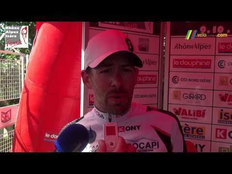 Interview Frdric Talpin, vainqueur 2me tape Rhne Alpes Isre Tour 2013 (129x)