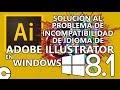 Solución al Problema de Incompatibilidad Idioma Unicode de Adobe Illustrator en Windows 8.1