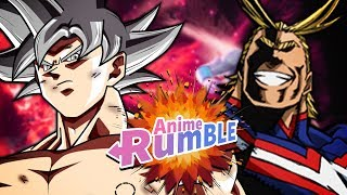 ANIME RUMBLE RETURNS?! Mastered Ultra Instinct Goku VS All Might!! | Anime Rumble (Soulcalibur VI)