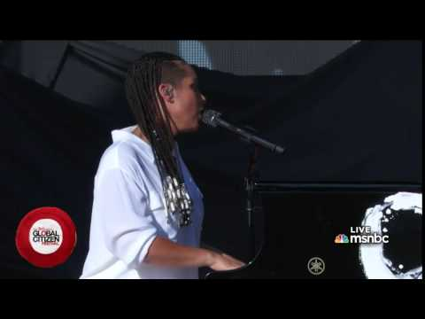 Alicia Keys - We are here (Global Citizen Festival)