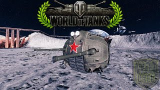 World of Tanks - IS 8-Ball - 2 & 1/2 Kills - 1.2k Damage - Moon battle [Replay|HD]