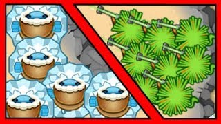 Ice VS Sniper - Which Tower is Better Late Game? (Bloons TD Battles / BTD Battles)