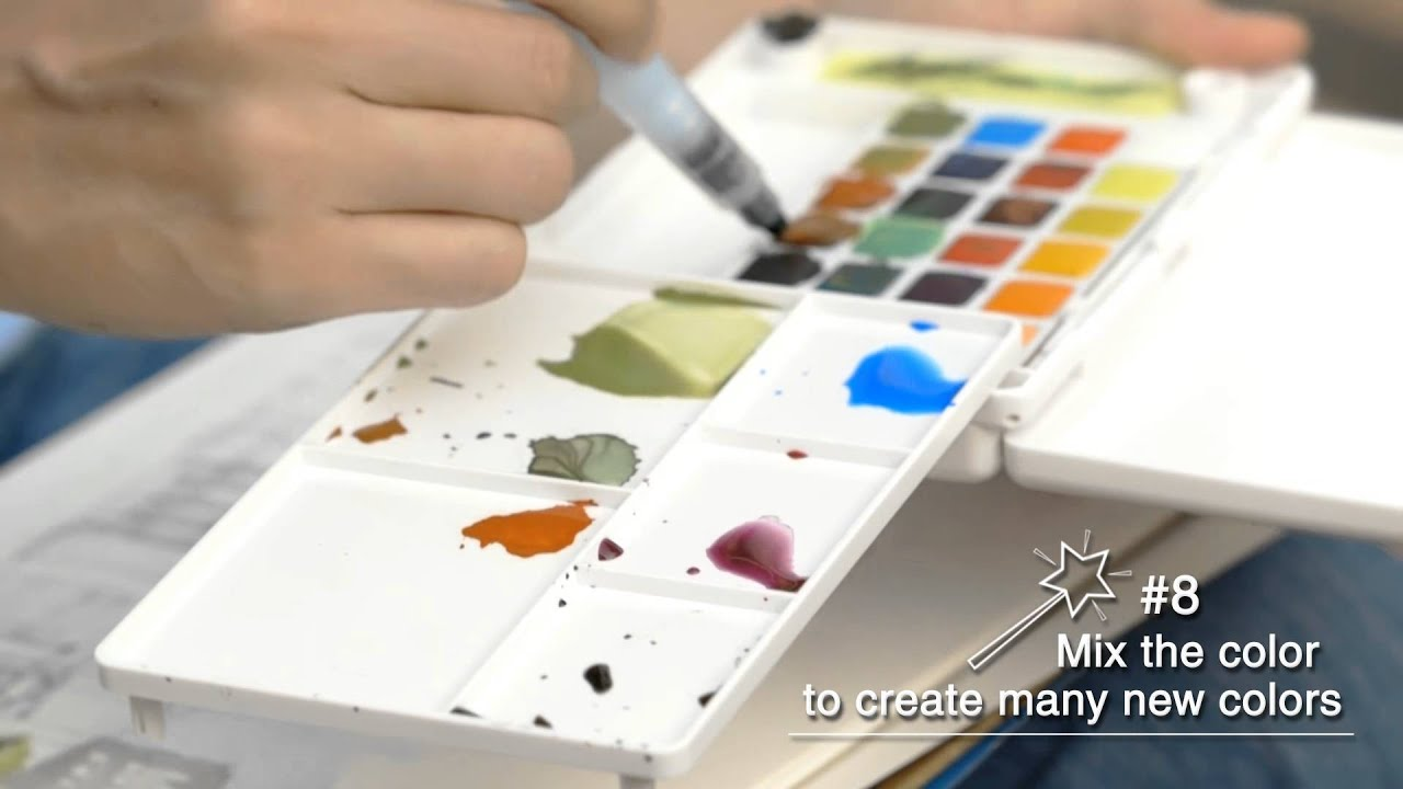 Sakura How To Paint With Koi Water Colors Pocket Field
