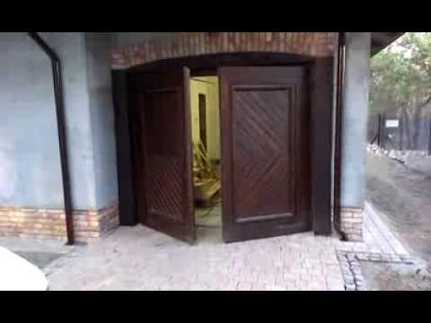 Brama garażowa leroy