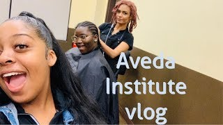 A DAY AT AVEDA INSTITUTE | COSMETOLOGY SCHOOL VLOG