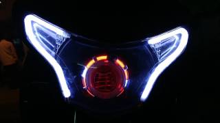 Honda Cbr 250 custom headlight