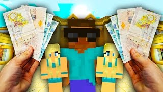REALISTIC MINECRAFT - STEVE BECOMES A BILLIONAIRE!