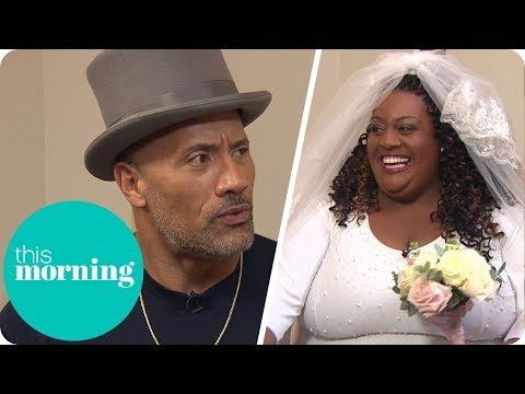 Dwayne Johnson Follows Through on His Promise to Marry Alison! (Extended)   This Morning