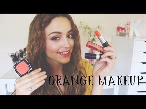 My Favorite Orange Eyeshadows, Blushes & Lip Products!