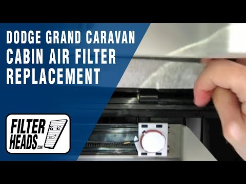 Cabin air filter replacement- Dodge Grand Caravan