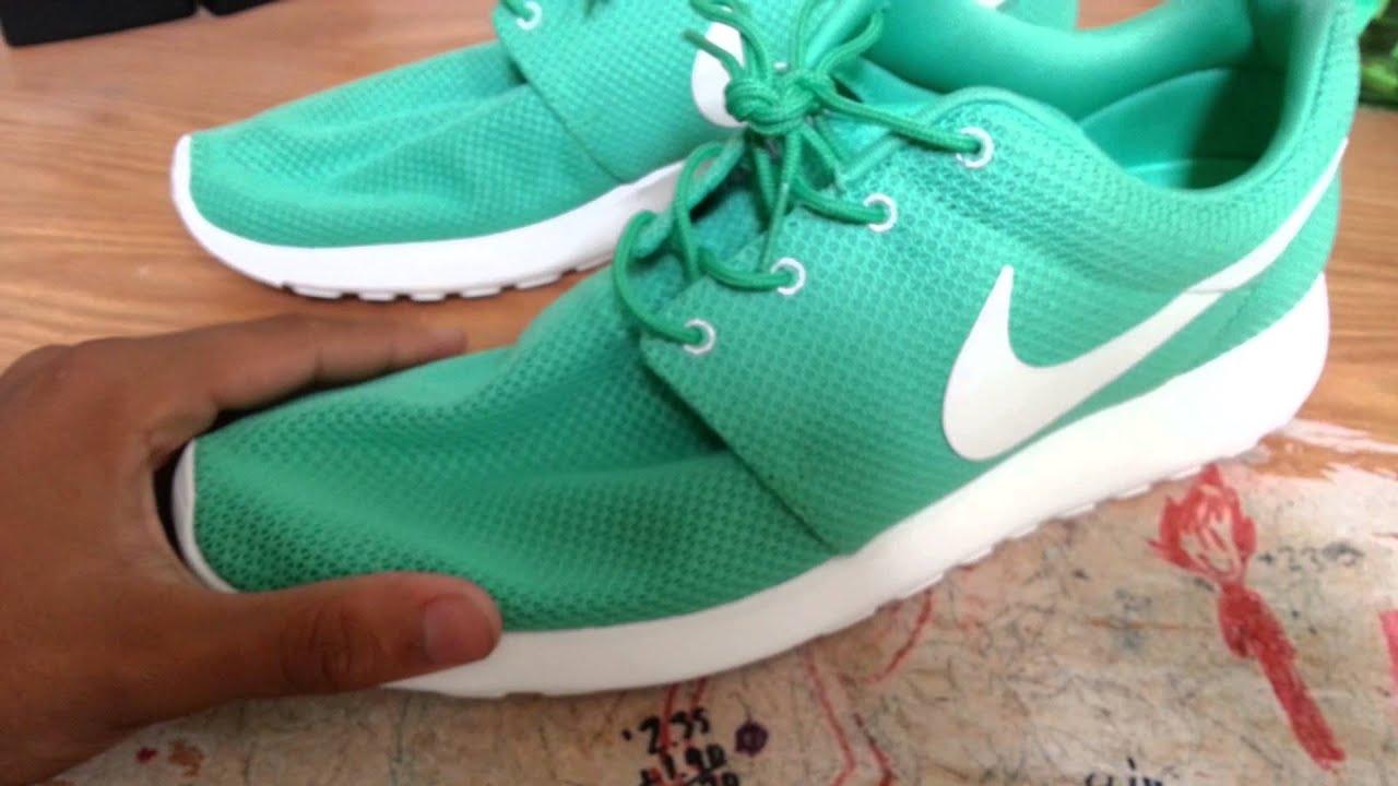 Green Sail Roshe Runs Nike Roshe Run Gamma Green