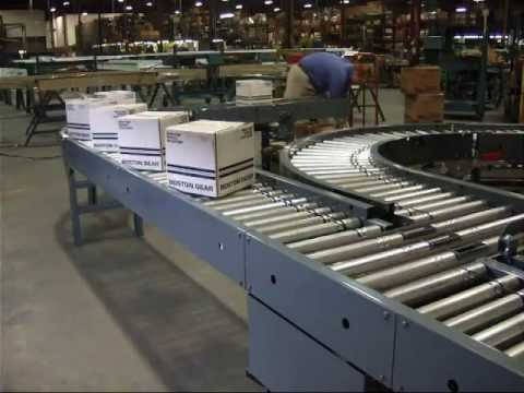 Automated Conveyor Systems, Inc. Product Model:  190MRA - Motorized Roller Accumulator Conveyor