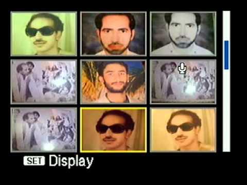 Zakir Malik Manzoor Hussain Wig Marhoom Khadeja T video