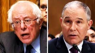 Bernie Sanders Vs. Scott Pruitt, Trump's RIDICULOUS, Climate-Change Denying Pick for Sec. of the EPA