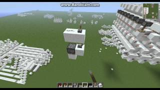 Minecraft Extremely Compact Redstone Memory Cell
