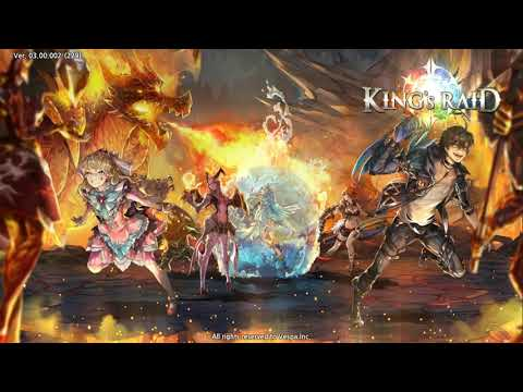 King's Raid OST Title Screen BGM 2 (Japanese Vocal)
