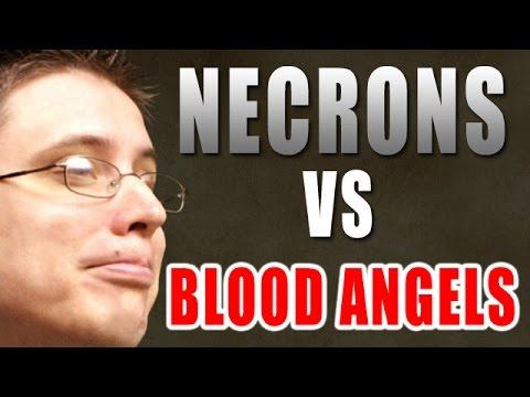 Necrons vs Blood Angels Warhammer 40k Battle Report - Beat Matt Batrep Ep 107