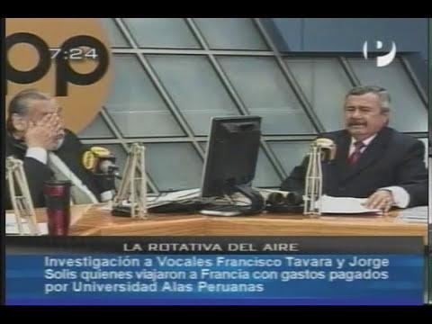Entrevista del Dr. Francisco Tavara Cordova en RPP Parte 1