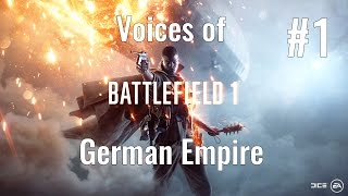 Battlefield 1 - German Voices - *Alert* Part 1/7