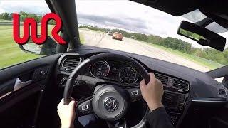 2016 Volkswagen Golf R (DSG) - WR TV POV Track Review