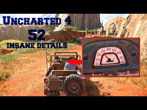 52 INSANE Details in Uncharted 4 A Thief's End (Part # 1)