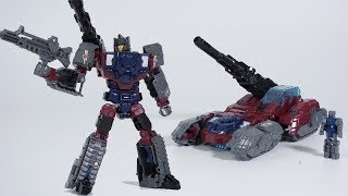 Transformers Generations Titans Return Decepticon Quake and Chasm Transformation