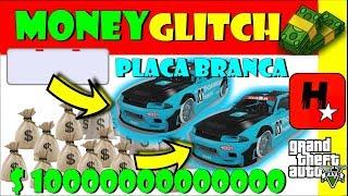 GTA V GLITCH DINHEIRO INFINITO PS4 XBOX 1 PC EASIEST GTA 5 Money Glitch CAR DUPLICATION Placa Branca
